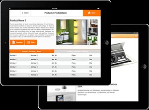 Mobile Produktinformationen